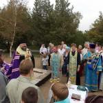 При въезде в Крым заложена часовня в честь Покрова Божией Матери