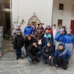 Хор воспитанников школы-интерната побывал в Свято–Успенском Бахчисарайском монастыре