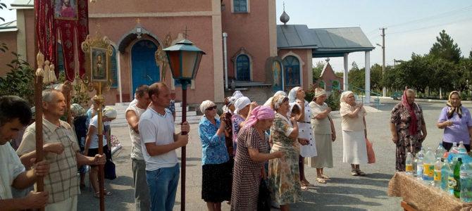 В Раздольном в День Крещения Руси верующие прошли крестным ходом