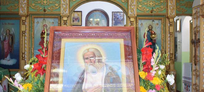 Престольный праздник храма прп. Серафима Саровского с. Ковыльное