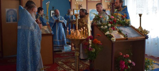 Престольный праздник храма Почаевской иконы Божией Матери