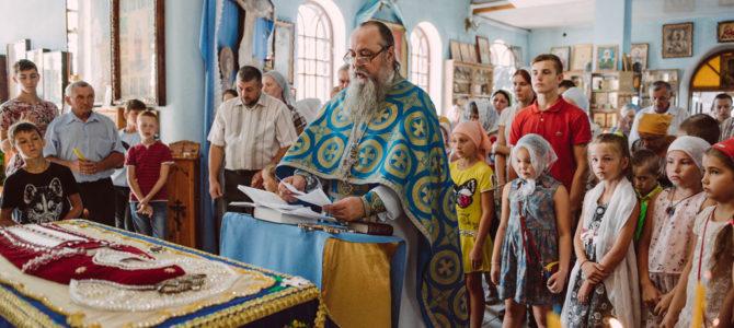 Молебен на начало учебного года в п. Октябрьское