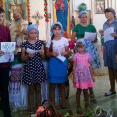 Детское выступление в праздник Преображения Господня