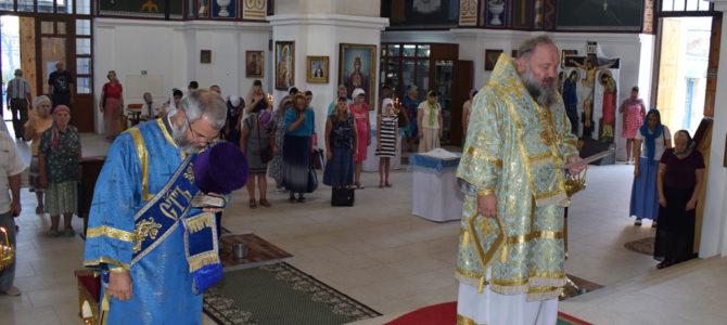 Божественная литургия в неделю 14-ю по Пятидесятнице