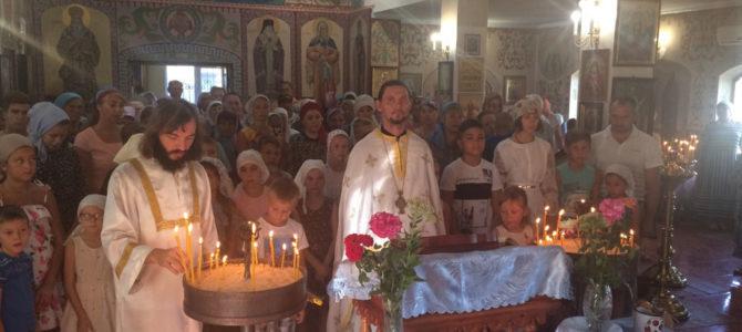 Молебен перед началом учения в Свято-Рождественском храме п. Первомайский