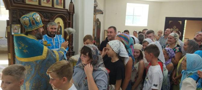 Молебен на начало нового учебного года в Свято-Казанском храме
