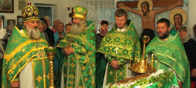 Престольный праздник храма прпп. Антония и Феодосия Печерских с. Нива