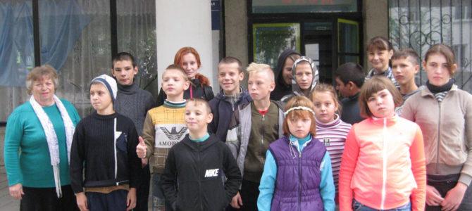 Праздничная встреча в городской Детской библиотеке