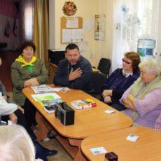 Встреча со священником в Раздольненском Центра социального обслуживания