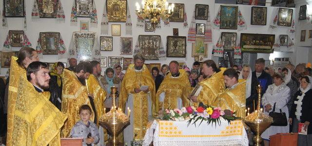 Престольный праздник храма св. ап. Фомы с. Воинка