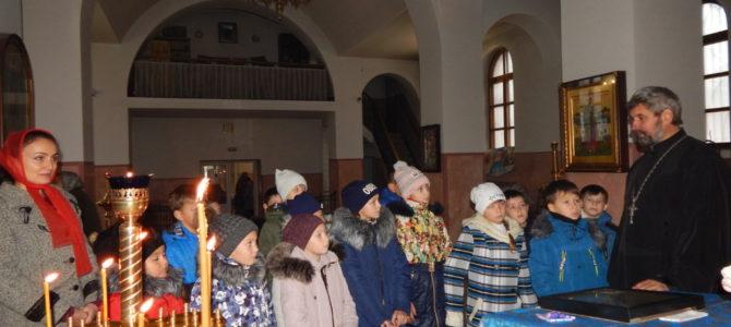Школьники посетили Свято-Вознесенский храм г. Красноперекопска