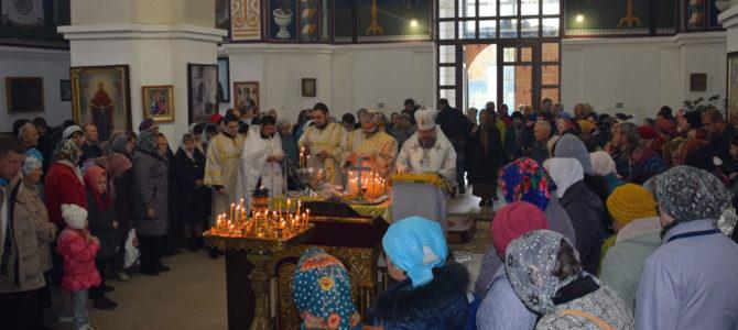 Богослужение в Димитриевскую родительскую субботу