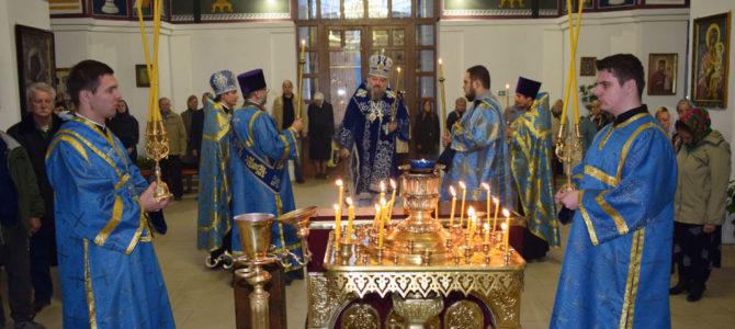 Божественная литургия в праздник Казанской иконе Божией Матери