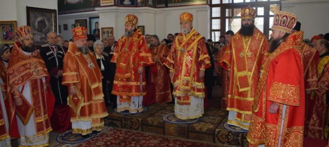 Джанкойская епархия отпраздновала 10-летие со дня основания