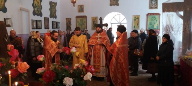 Престольный праздник храма в честь вмч. Димитрия Солунского
