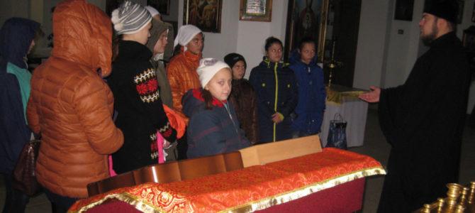 Экскурсия в собор для воспитанников школы-интерната