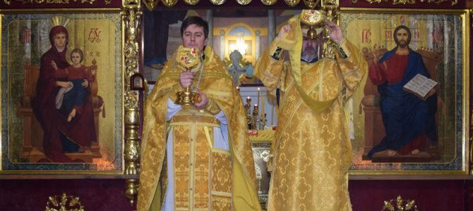 Божественная литургия на праздник свт. Николая Чудотворца