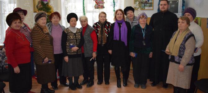 Встреча с пожилыми людьми ко Дню Святого Николая