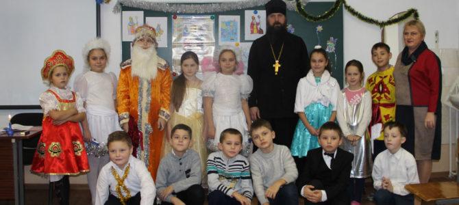 Праздник в День святого Николая в Изумрудновской школе