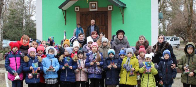День Святого Николая в в храме прп. Сергия Радонежского с. Заветное