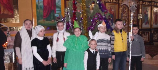 Рождественское детское выступление в Свято-Никольском храме Армянска