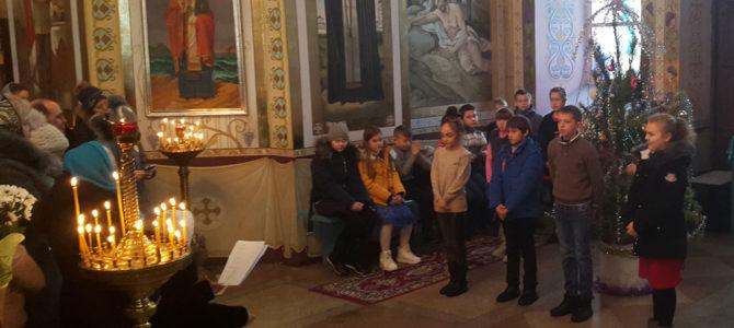 Рождественские поздравления в Свято-Покровском храме с. Войково
