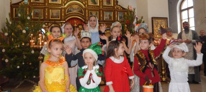 Рождественские поздравления в Свято-Вознесенском храме г. Красноперекопска