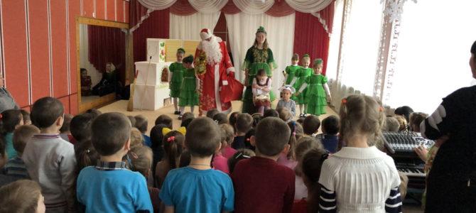Воспитанники Восходненской воскресной школы провели праздник в детском саду