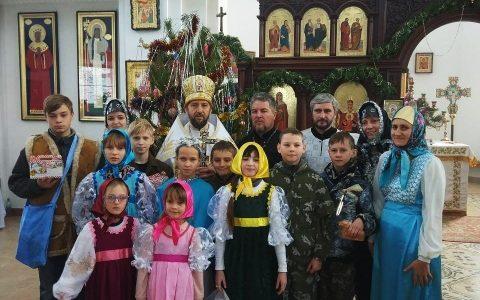 Рождество Христово в п. Красногвардейском