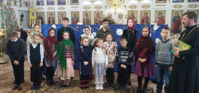 Рождественское выступление воскресной школы храма св. ап. Фомы