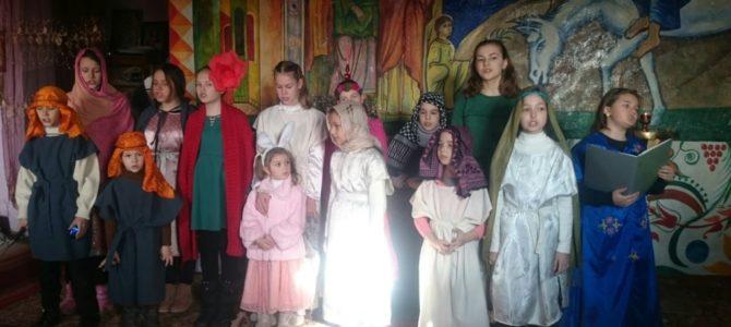 Рождественские поздравления в Нижнегорском благочинии