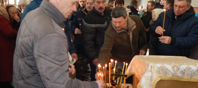 В Красноперекопске молитвенно почтили память воинов–интернационалистов