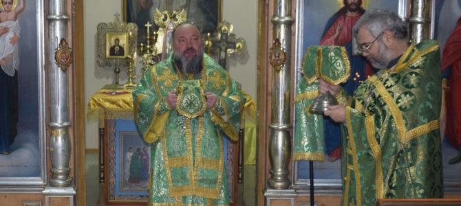 Божественная литургия в день памяти блж. Ксении Петербургской