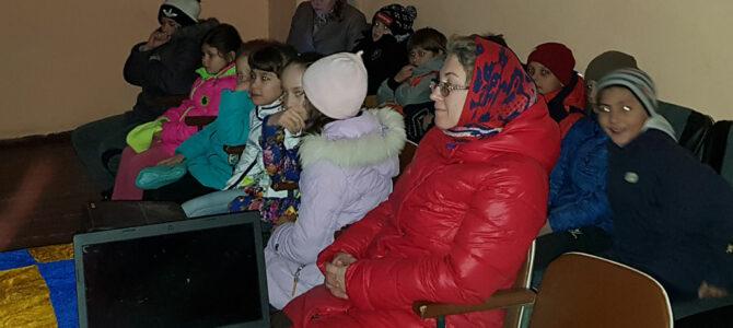 В селе Ярком состоялся показ православного мультфильма