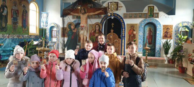 Открытый урок, посвященный Торжеству Православия, в воскресной школе Свято-Иверского храма