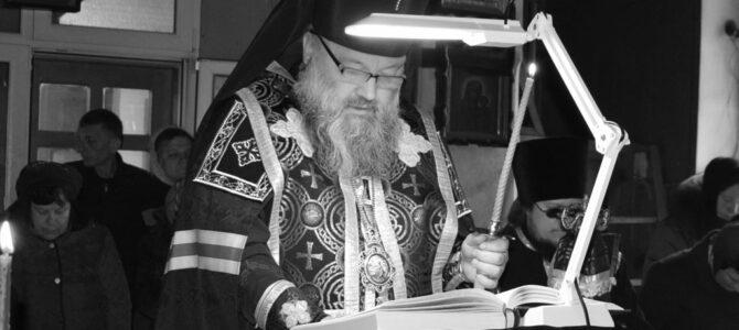Чтение второй части Великого канона прп. Андрея Критского