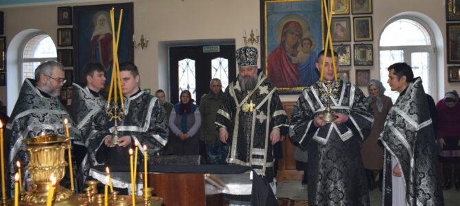 Литургия Преждеосвященных Даров в среду первой седмицы Великого поста