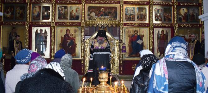 Правящий архиерей совершил общую исповедь в Покровском соборе