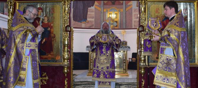Божественная литургия в субботу первой седмицы Великого поста