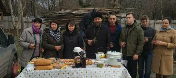 Праздник Масленицы в Свято-Казанском приходе п. Красногвардейского