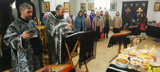 Литургия Преждеосвященных Даров в Свято-Казанском храме п. Красногвардейского