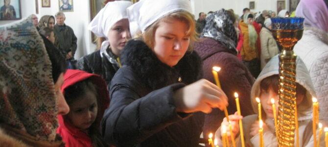 Детишки из Джанкойской школы-интерната приступили ко Святому Причастию