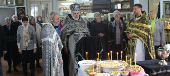 Божественная литургия Преждеосвященных Даров в храме св. кн. Александра Невского п. Советского