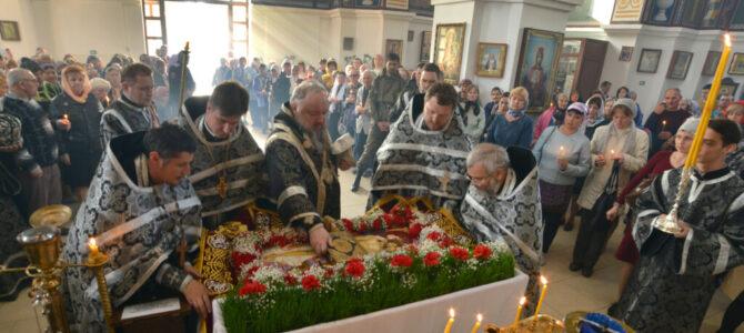 Вечерня Великой Пятницы и утреня с Чином погребения святой Плащаницы
