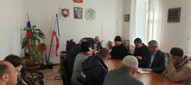 Представитель епархии принял участие в заседании Совета по межнациональным и межконфессиональным отношениям Нижнегорского района