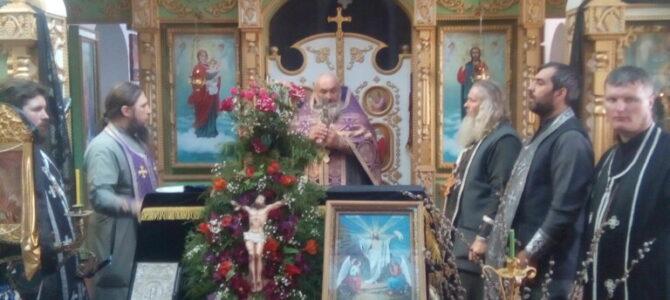 Духовенство Раздольненского благочиния приступило к Таинству Соборования