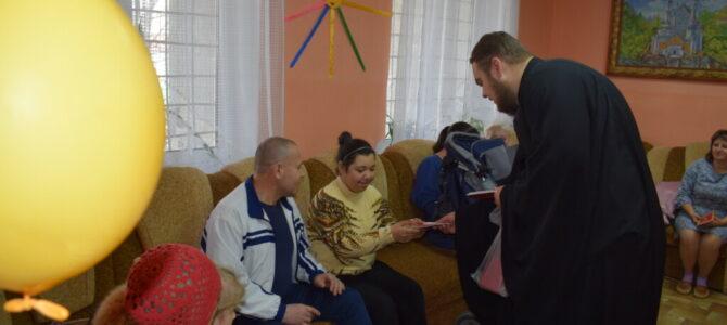 """Сотрудник отдела по социальному служению посетил реабилитационный центр """"Солнышко"""""""