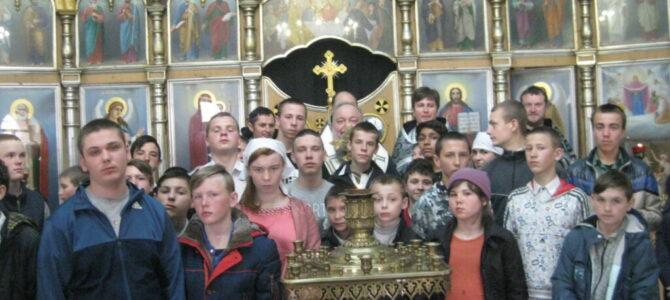 Соборование совершено над детишками из Джанкойской школы-интерната