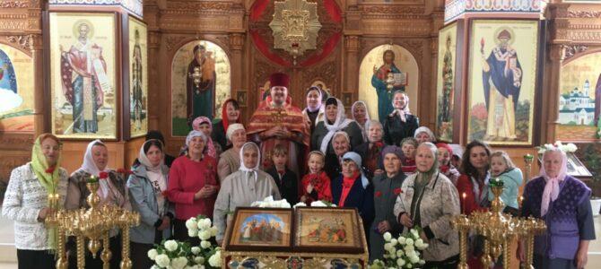 Праздник святых жен-мироносиц в с. Полтавка