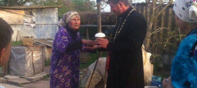 Настоятель храма ап. Фомы посетил на дому пожилых прихожан